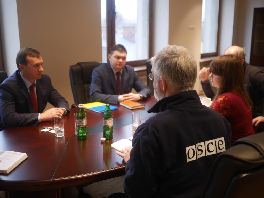 Представники ОБСЄ поцікавились у мера Ужгорода соціально-економічною і політичною ситуацією у місті