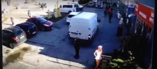 Внаслідок ДТП, яка сталась у центрі Мукачева, постраждалий отримав струс мозку