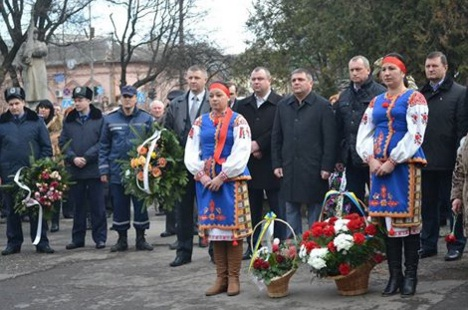 Берегівщина вшанувала учасників бойових дій на територіях інших держав