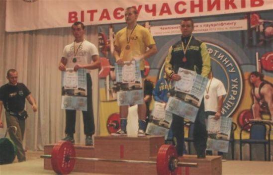 Мукачівські пауерліфтери здобули золоті та срібні нагороди чемпіонату України з жиму лежачи