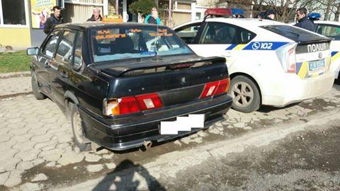 В Ужгороді нетверезий водій скоїв ДТП
