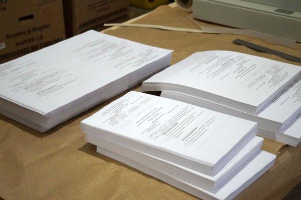 У Тячеві вже друкують бюлетені для перших виборів сільських старост