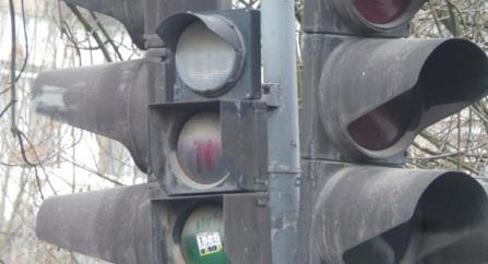 На одній з вулиць Ужгорода не працюють світлофори