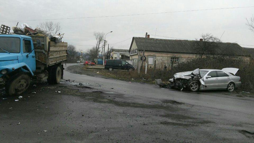 Патрульна поліція оприлюднила деталі ДТП на вулиці Коритнянській в Ужгороді