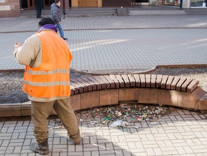 В Ужгороді прибиральники пройдуть випробувальний термін