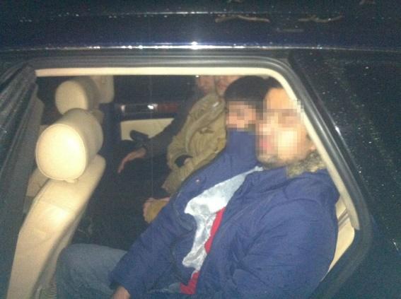 На Берегівщині нелегали з Афганістану потрапили в аварію