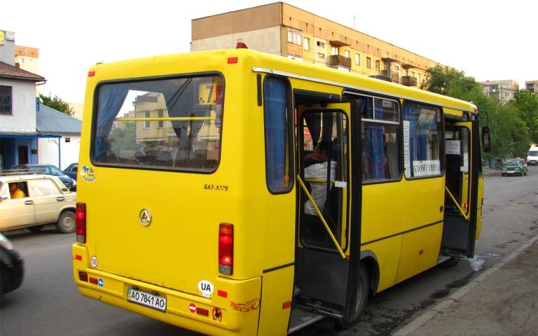 Підвищення тарифу на проїзд в ужгородських маршрутках буде введене в дію з 15 березня