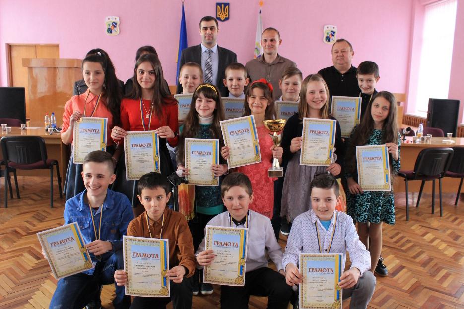 На Виноградівщині нагородили чемпіонів області з регбі