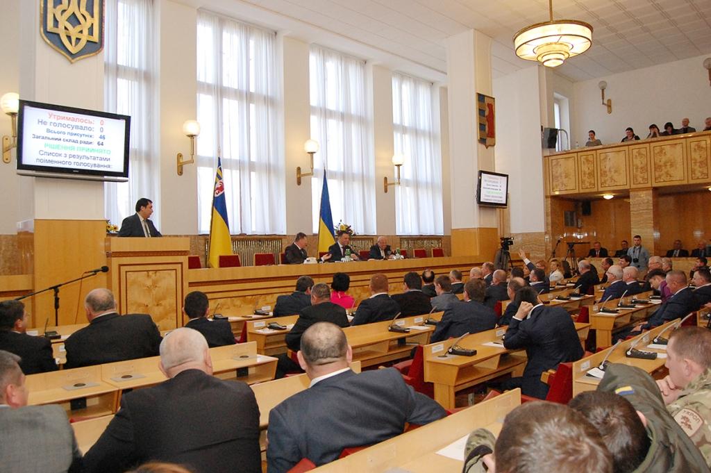 Депутати Закарпатської облради закликали Петра Порошенка докласти всі зусилля для звільнення Надії Савченко