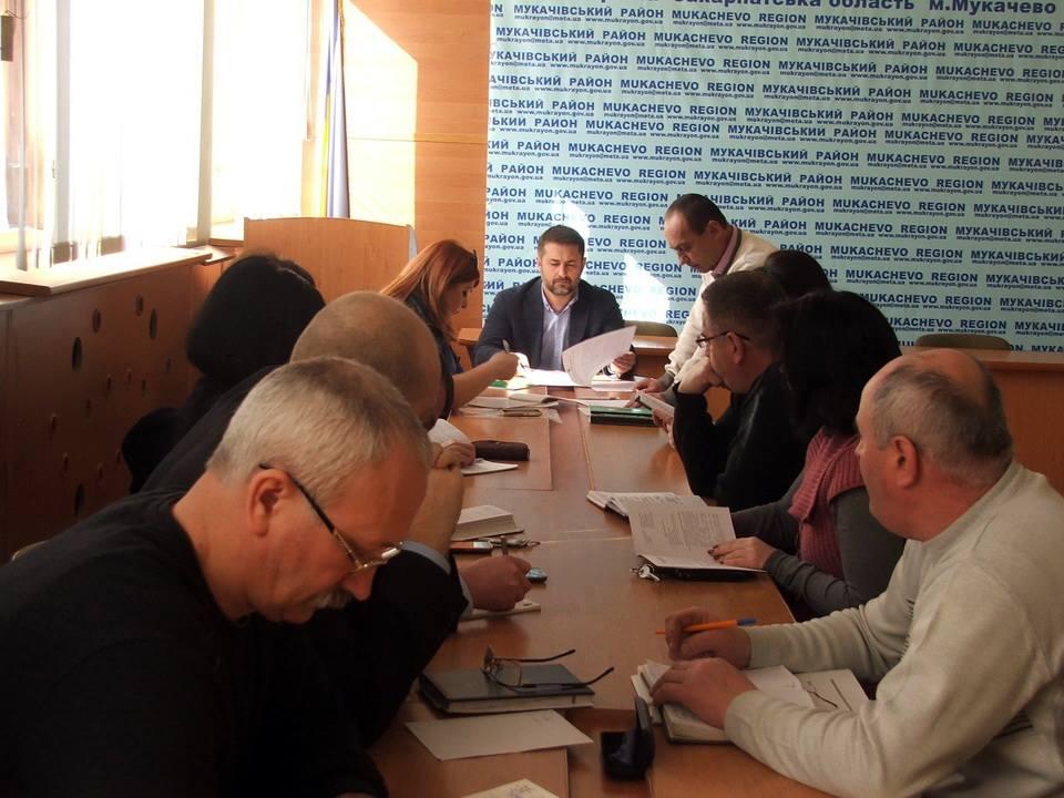 У Мукачівській РДА говорили про проблеми учасників АТО та шляхи їх вирішення