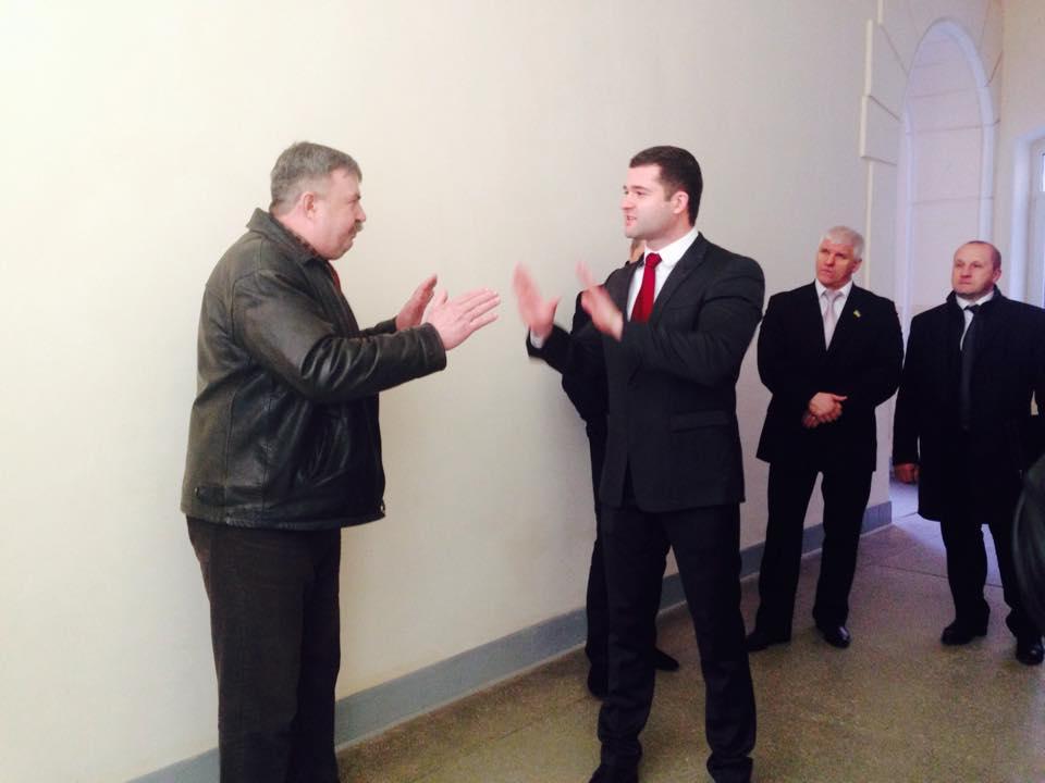 Ініціативна група в ці хвилини спілкується з мером Мукачева