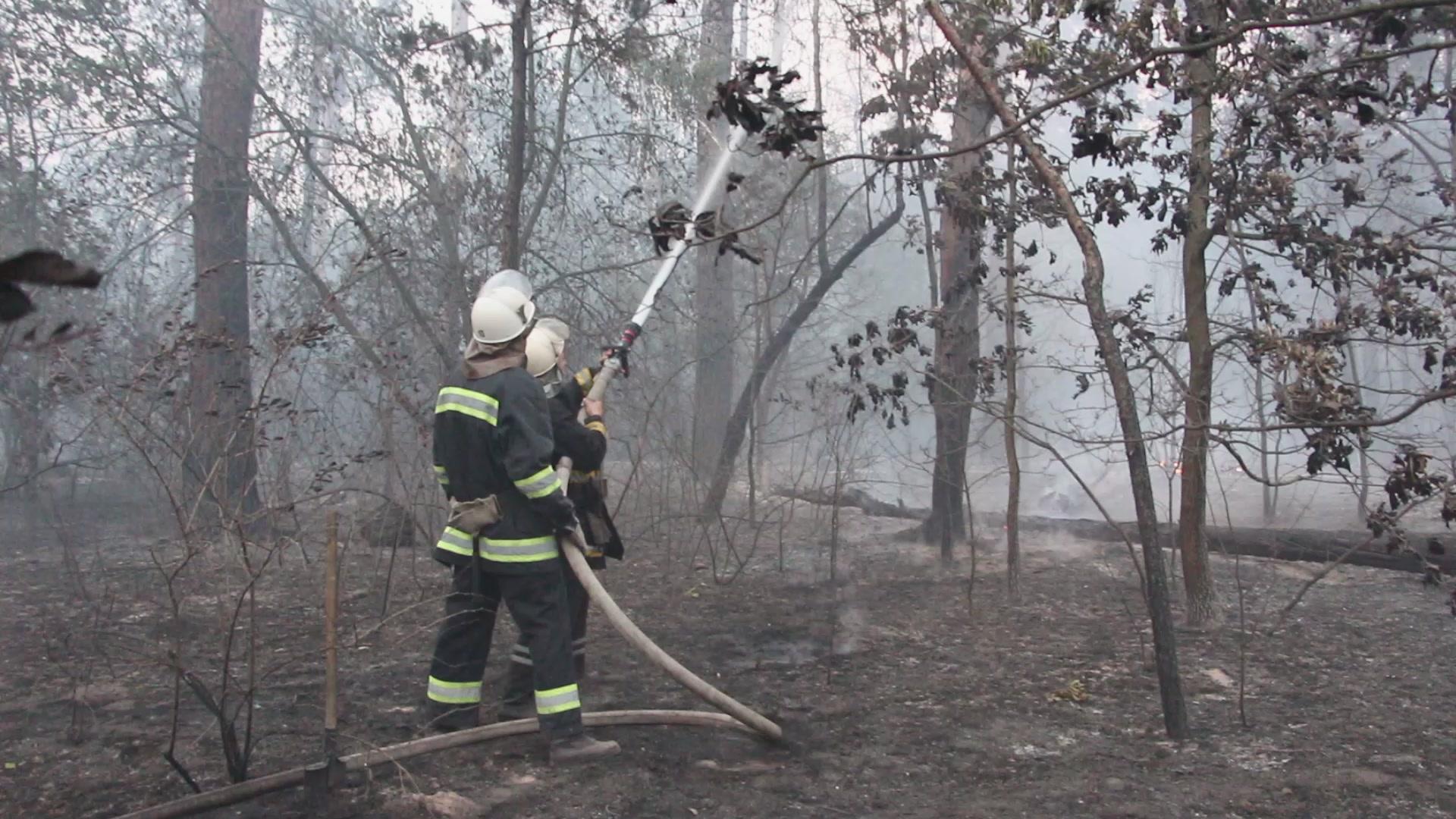 На Перечинщині пожежники ліквідували загорання на відкритій території