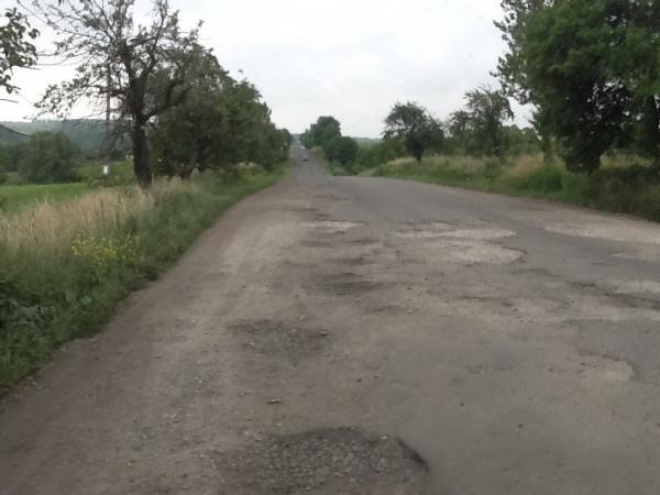 Обласні депутати просять виділити кошти на ремонт доріг між угорськомовними селами Мукачівщини