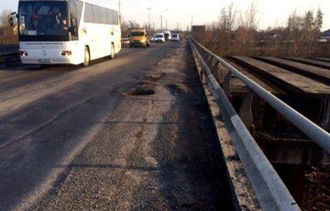 З наступного понеділка розпочнеться капітальний ремонт Паланківського мосту у Мукачеві