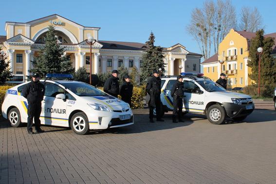 На вулицях Чопа також з'явилась патрульна поліція