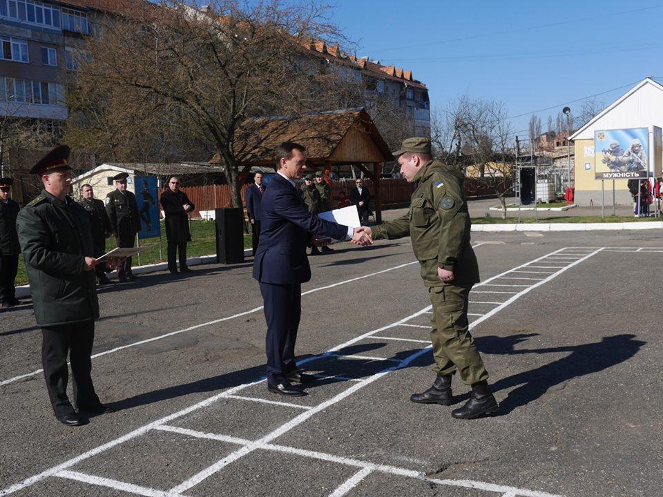 Керівники Закарпаття привітали бійців з Днем Національної Гвардії