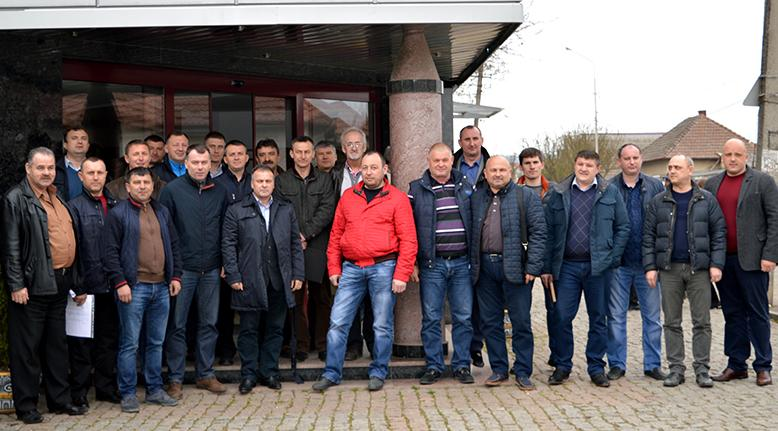 У Мукачеві обрали нового голову Ради президентів футбольних клубів Закарпаття