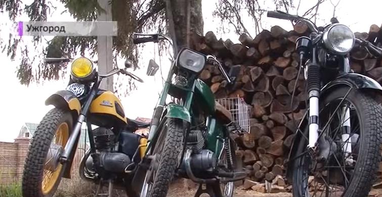 Ужгородець розповів про своє захоплення колекціонувати ретро-мотоцикли