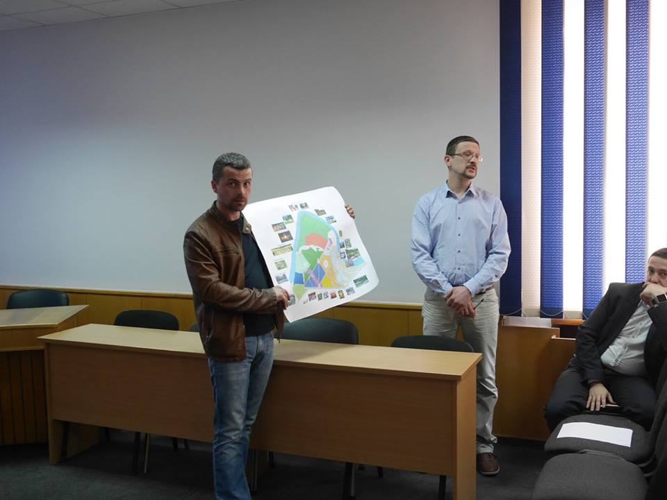 В Ужгороді провели відбір претендентів на посаду директора Боздоського парку