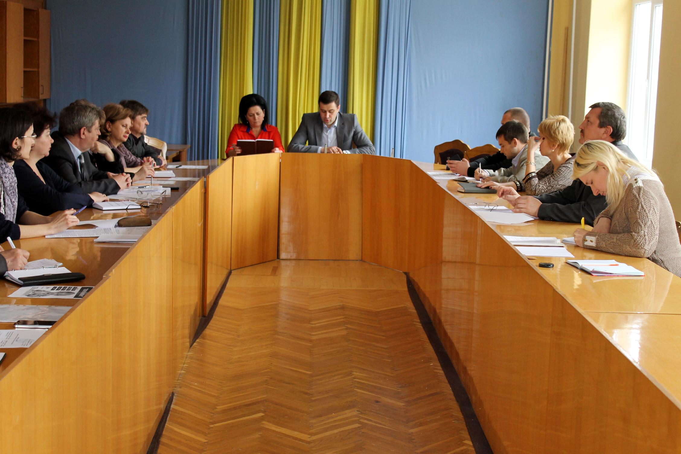 У Виноградові відбулось засідання колегії райдержадміністрації