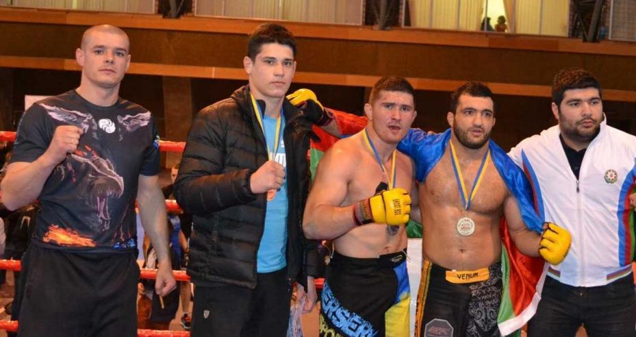 Ужгородець Ален Гаїбов готується стати кращим бійцем зі змішаних боїв