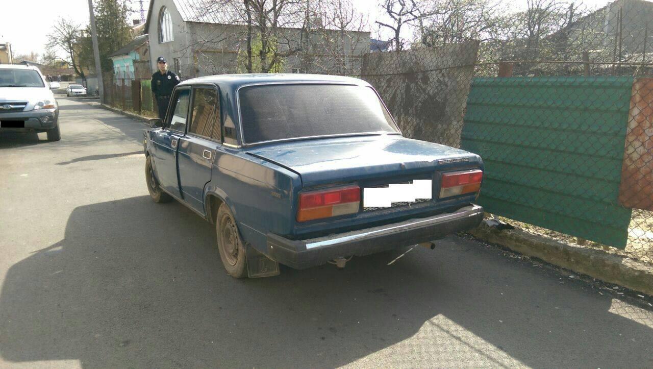 Ужгородські патрульні затримали водія, у якого рівень алкоголю в крові перевищує норму у 13 разів