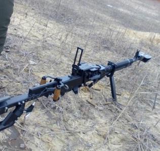 Бійці 128-ої бригади отримали модернізовані кулемети
