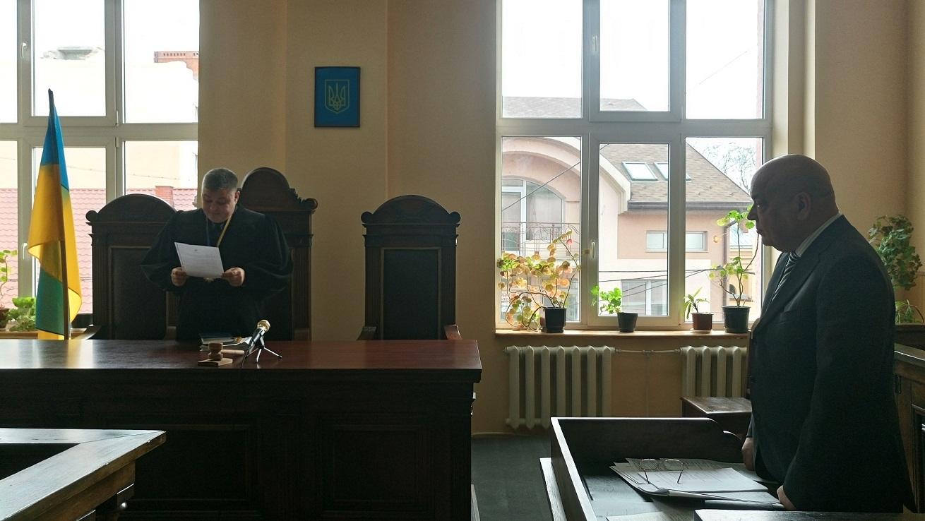 Москаль прийшов на суд, який розглядає позов проти Мукачівської міськради