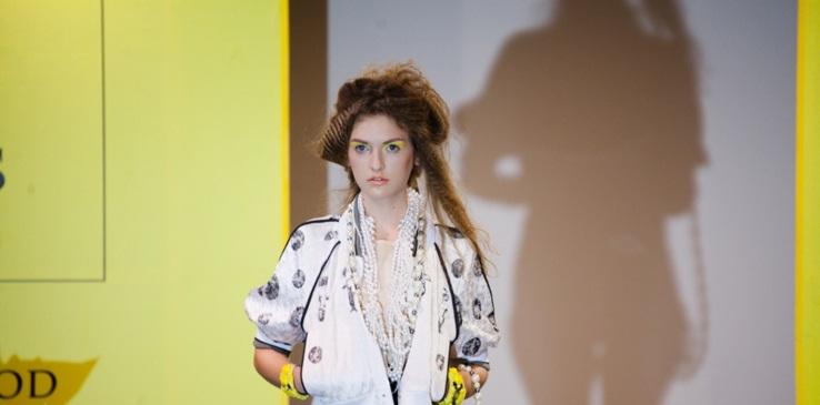 Відомий український дизайнер Вікторія Гресь представила ужгородцям показ нової колекції одягу