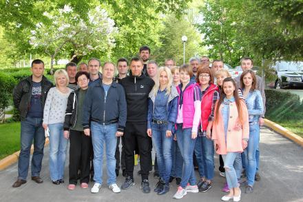 Митники області приєднались до акції з озеленення Ужгорода