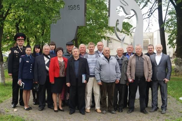 25 правоохоронців з Іршавщини брали участь у ліквідації аварії на ЧАЕС