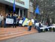 Під обласною прокуратурою в Ужгороді активісти вимагали звільнення прокурора Володимира Янка