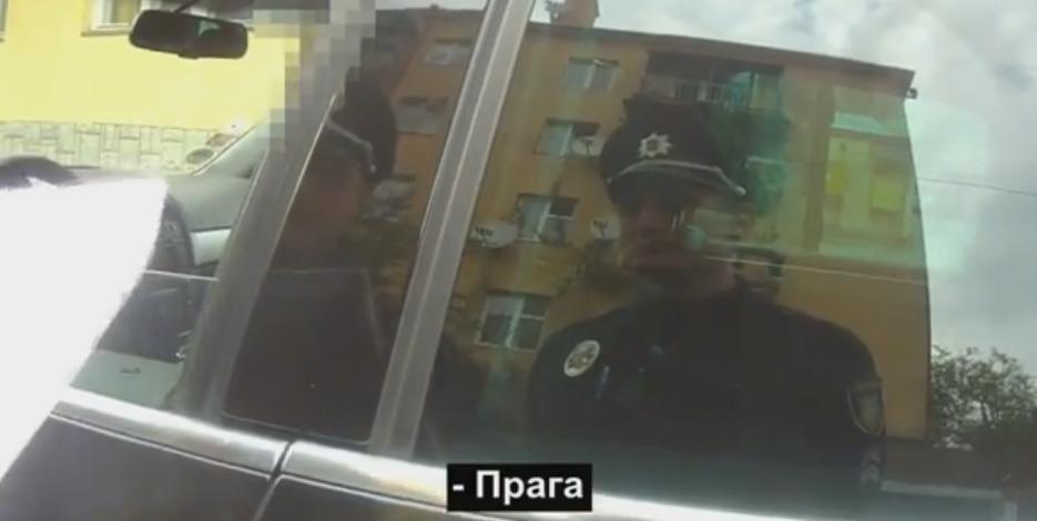 Патрульна поліція оприлюднила відео затримання головного міграційника Закарпаття