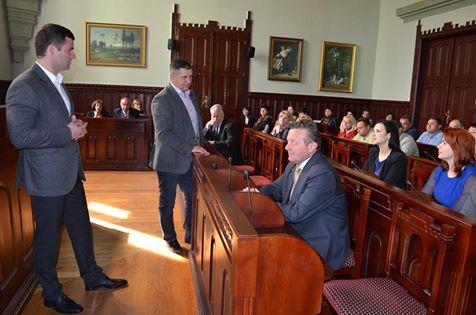 У Мукачеві представили нового заступника міського голови Едуарда Барчія