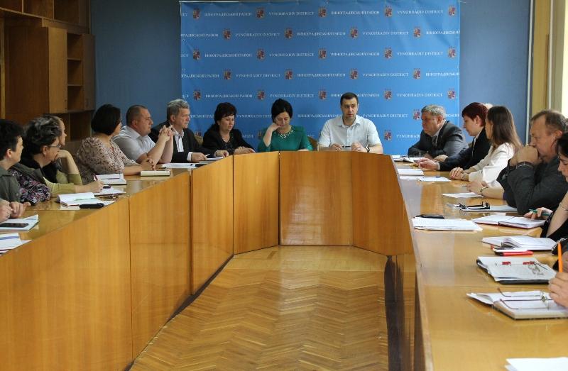 Два структурні підрозділи Виноградівської РДА отримали нових керівників