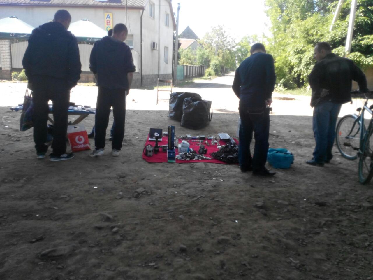 Муніципальні поліцейські Мукачева склали 5 штрафів за незаконну стихійну торгівлю