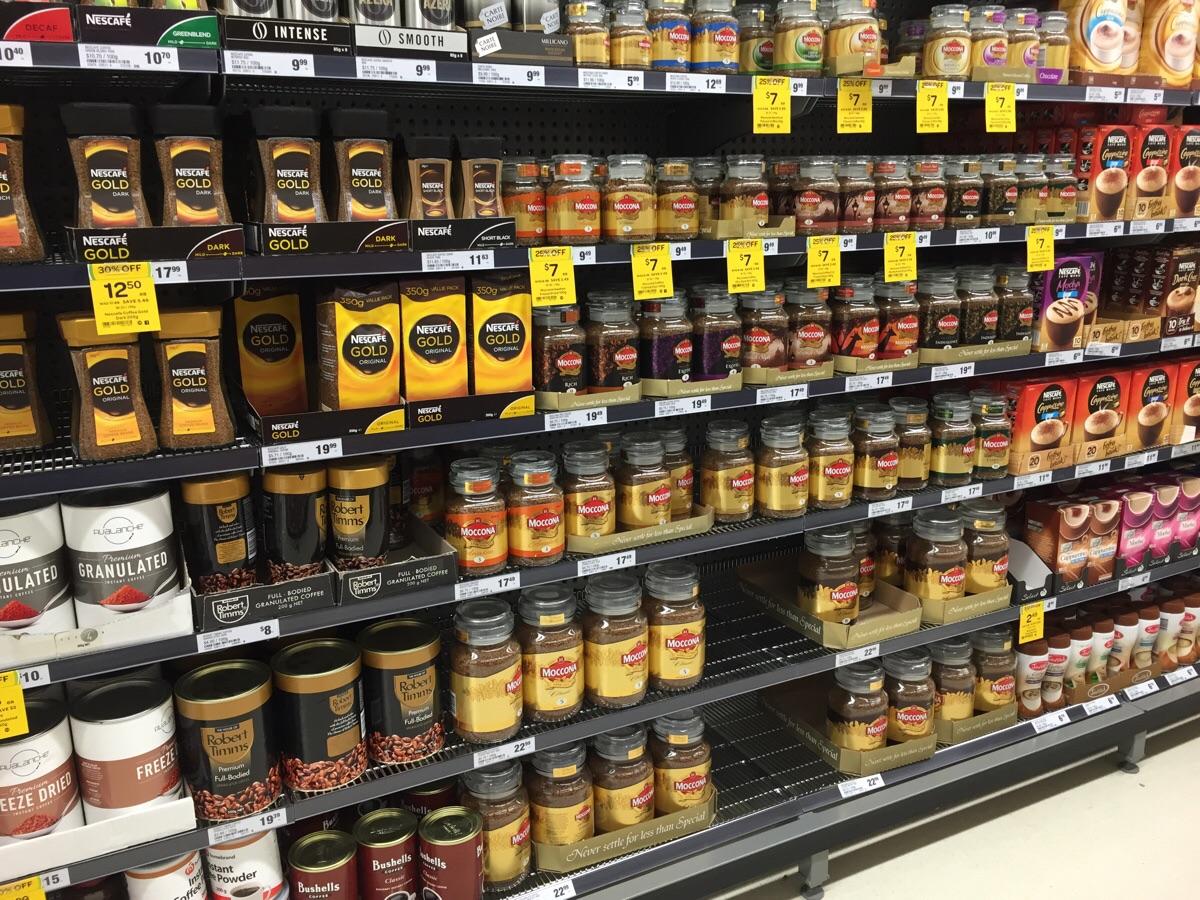 Ужгородець вкрав із супермаркету 6 пачок кави