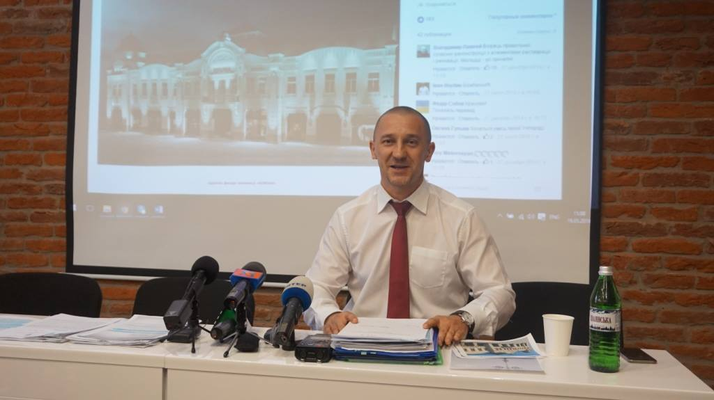 Іван Волошин розповів свою версію подій у центрі Ужгорода