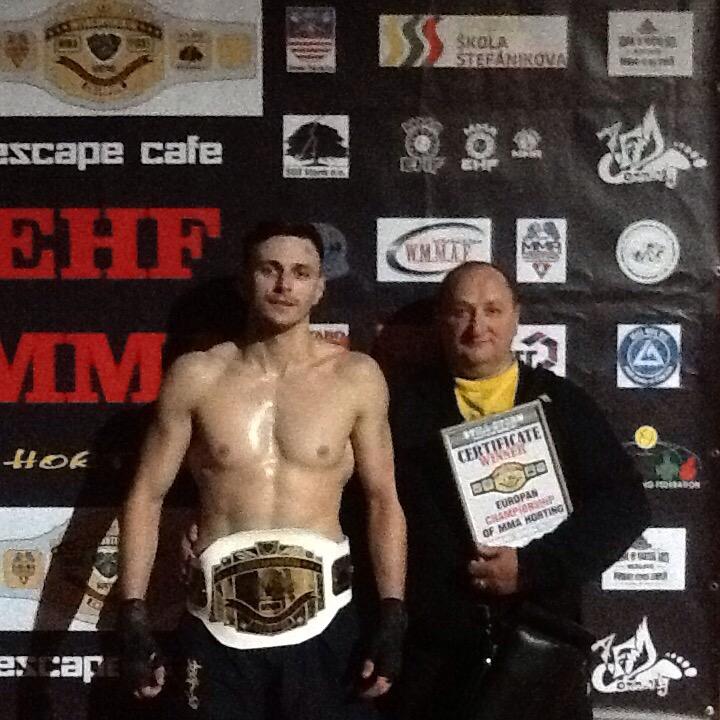 Закарпатець Ігор Няговський став чемпіоном Європи з хортингу
