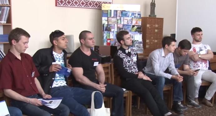 До Ужгорода приїхала молодь із Донецької та Луганської областей