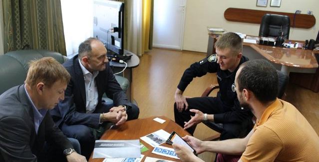 Закарпатські патрульні зустрілись із представниками ОБСЄ