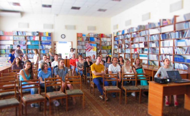 Ужгородці долучились до проведення найбільшого мовного уроку в світі