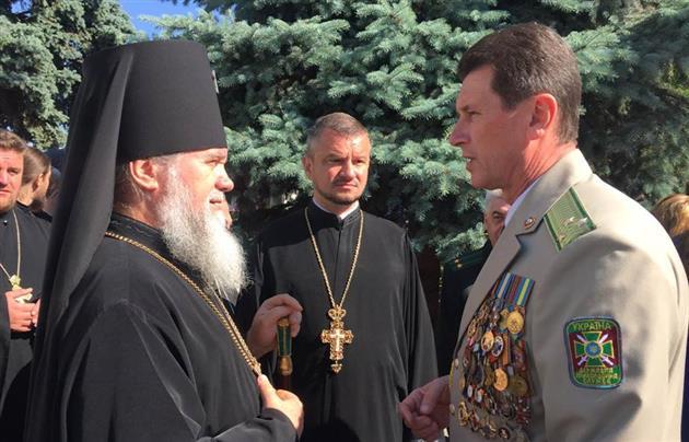 Архієпископ Феодор привітав випускників Мукачівського військового ліцею із завершенням навчання
