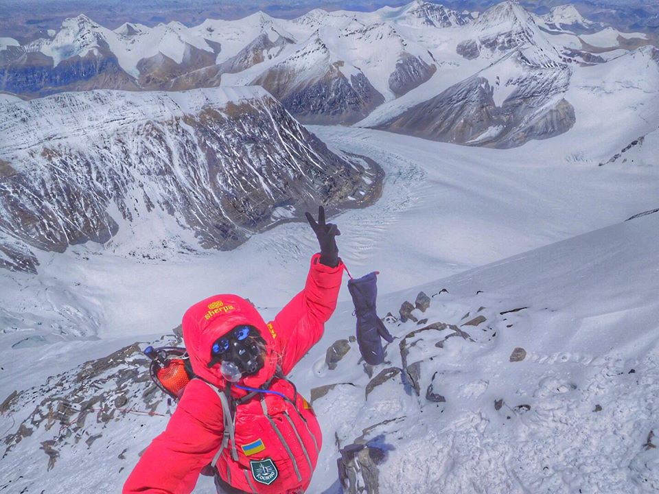 Мукачівка Ірина Галай, яка підкорила Еверест, отримала свідоцтво про рекорд
