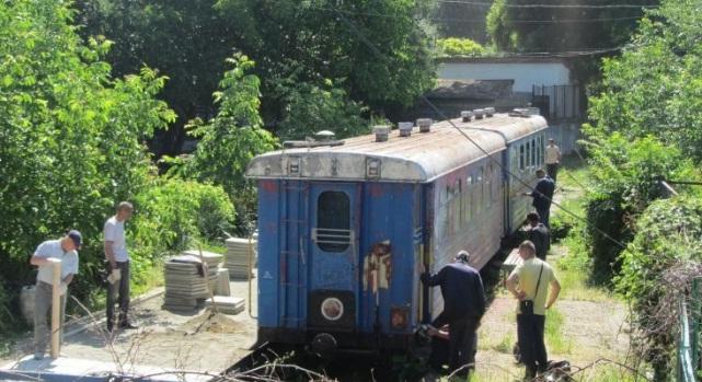 Ужгородська дитяча залізниця отримала новий тепловоз