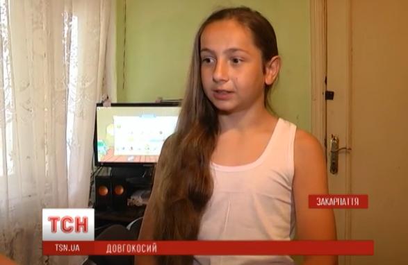 Закарпатський школяр, який ще ніколи в житті не стригся, може потрапити в Книгу рекордів України
