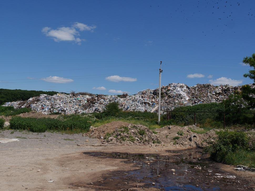 Аби уникнути трагедії, подібної на львівську, мер Ужгорода позапланово проінспектував сміттєзвалище біля Барвінку
