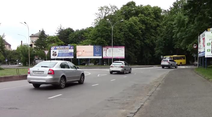 Неправильну розмітку на одному із перехресть Ужгорода виправлять