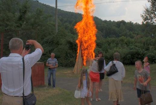 Закарпатські лемки запалять традиційну ватру