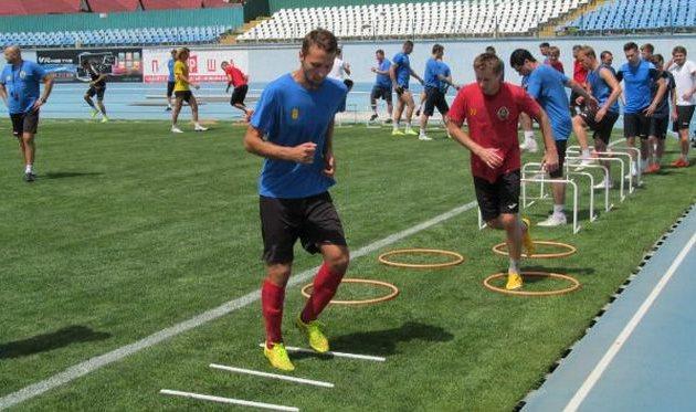 Команда Прем'єр-ліги готуватиметься до футбольного чемпіонату України в Ужгороді
